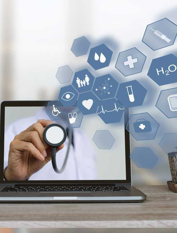 Telemedicine Telehealth - Laptop - Dr Kathleen Janel ND